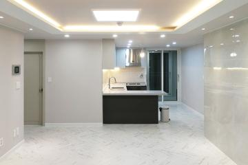 마블 패턴이 선보인 고급스러움, 27평 아파트 인테리어 화이트,심플,강남,논현동
