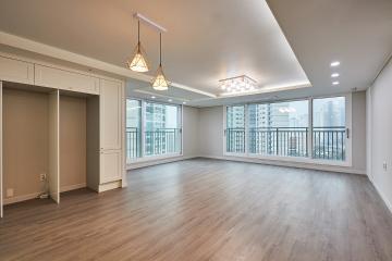 화이트 크림톤 컬러가 매력적인 44평 아파트 인테리어 44평,클래식,일산,고양시,신원동