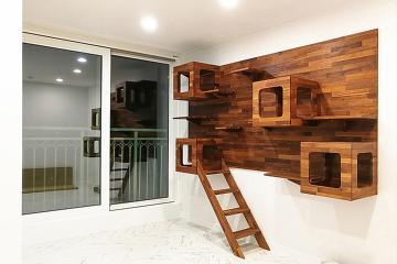 반려묘를 배려한 공간, 27평 아파트 인테리어 27평,모던,심플,강남,논현동