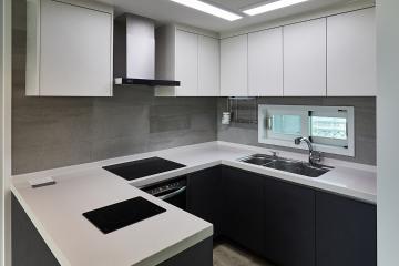 사계절 내내 질리지 않아 좋은 심플 디자인, 32평 아파트 인테리어 32평,모던,마포구,창전동