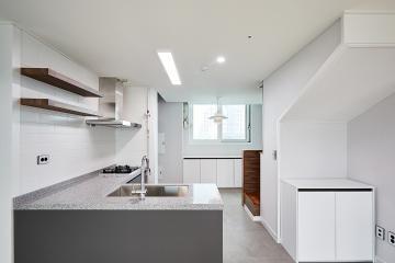 작은 평수 우리 집 넓은 효과 주는 화이트 톤 디자인, 25평 아파트 인테리어 25평,심플,화성시,능동