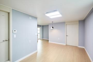 여름철 지친 일상을 치유해주는, 20평대 아파트 인테리어 25평,중랑구,면목동,주택