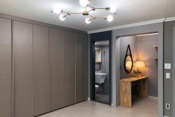 고급스러운 컬러 선택으로 완성된 모던 클래식, 43평 아파트 인테리어 43평,모던,무채색,모노톤,내츄럴,대구,달서구,도원동