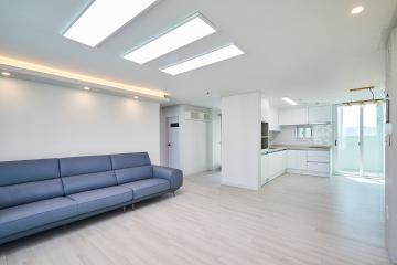 지친 일상을 치유하는 공간, 30평대 아파트 인테리어 화이트,김포,시우동
