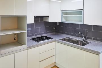 베이비핑크와 코발트블루의 환상적인 조합, 34평 아파트 인테리어 34평,베이비핑크,코발트블루,컬러인테리어,구로구,개봉동