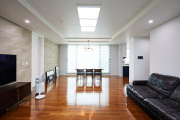 모던&클래식의 디테일이 살아있는 공간, 39평 아파트 인테리어 화이트,인천,당하동