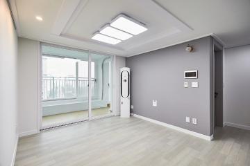 심플하고 세련된 모던 인테리어로 깔끔한 24평 아파트 인테리어
