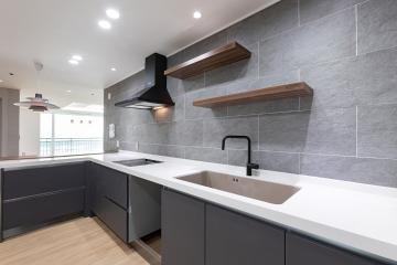 한 번쯤 꿈꿔보는 주방을 가진 30평 아파트 인테리어 30평,심플,아늑함,광진구,자양동