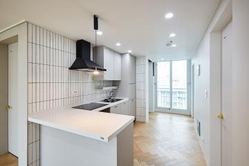 아늑함으로 만들어낸 내추럴함, 24평 아파트 인테리어 24평,내츄럴,클래식,영등포구,당산동,당산