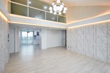 완벽한 공간 분리 꿈에 그린 복층 집, 48평 아파트 인테리어 48평,복층집,복층아파트,공간분리,공간활용,럭셔리,인턴,도림동