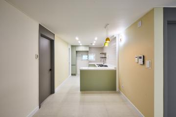 다양한 파스텔톤 컬러로 꾸며진 아늑한 공간, 31평 아파트 인테리어 도봉구,도봉동