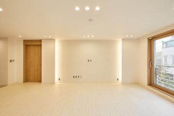 차분하고 단정한 분위기를 완성한 공간, 61평 빌라 인테리어 61평,빌라,리모델링,강남,청담동