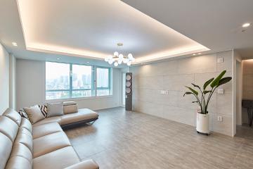 현대적인  디자인에  세련미까지 더한 49평 아파트 인테리어  49평,현대적인,세련미,용산,한강로