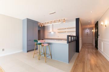 파스텔컬러와 모던의 만남, 42평 아파트 인테리어 34평,내츄럴함,송도,인천