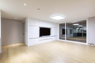모두가 원하는 내츄럴 공간, 33평 아파트 인테리어