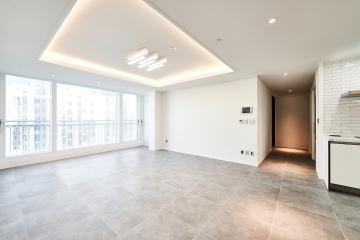 순백의 美가 살아숨쉬는 공간,35평 아파트 인테리어
