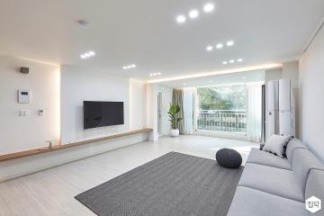 편안함과 아름다움의 케미스트리, 42평 아파트 인테리어