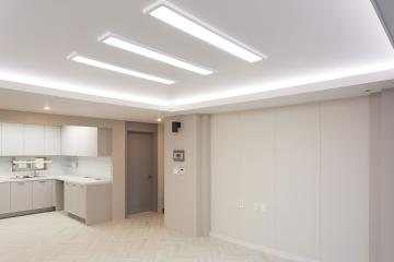 밝은 그레이 컬러가 선보인 모던함, 42평 오피스텔 인테리어  42평,영등포,양평동,오피스텔인테리어