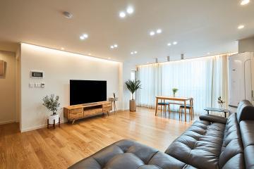 집 찾기 '로망'과 '현실' 풀어내다. 35평 아파트 인테리어  35평,아늑함,영등포,문래동