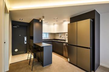 그 남자가 사는 공간, 21평 아파트 인테리어 21평,그레이,구리시,수택동