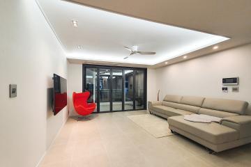 비대칭적 균형감의 매력포인트, 42평 아파트인테리어 42평,인테리어트렌드,성북구,길음동,아파트인테리어