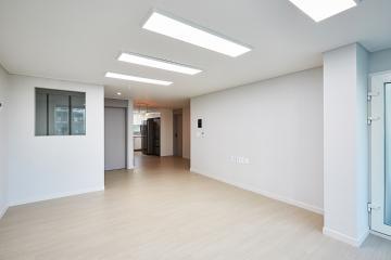 화이트 컬러의 깔끔하고 밝은 공간, 32평 아파트 인테리어 화이트,서대문구,홍제동