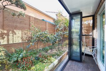 자연과 쉼의 정취를 느끼는 공간, 42평 주택 인테리어 정원,강북구,수유동
