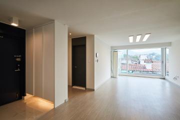 우리가족의 아늑하고 매력적인 생활 공간, 27평 빌라 인테리어 27평,빌라,종로구,홍지동