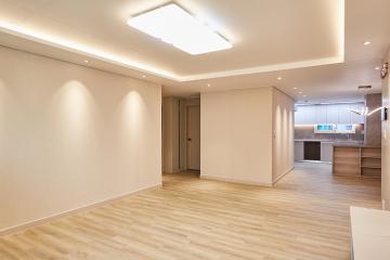따뜻한 베이지 컬러 웜톤 하우스, 40평 아파트 인테리어 웜톤,40평아파트,노원구,중계동