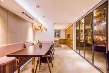 우아한 작품을 닮은 모던 클래식 75평 아파트 인테리어  75평,럭셔리,인테리어트렌드,우아함이가득한곳,용산,청암동