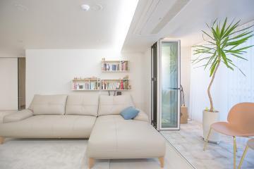 갤러리를 쏙~빼닮은 깔끔한 화이트톤의 45평 아파트 인테리어 45평,심플,화이트톤,인천,주안동