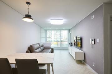 필요한 것만 필요한 만큼, 21평 아파트 인테리어 미니멀,21평아파트,송파구,거여동