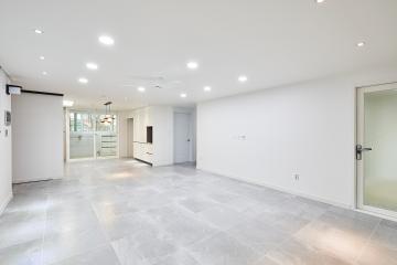 화이트 모던 스타일의 아늑한 32평 아파트 인테리어 화이트모던,32평,30평대아파트,용인시,보정동