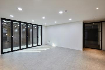 모던함이 돋보이는 디자인의 세련된 공간, 43평 아파트 인테리어 43평아파트,40평대아파트,성동구,금호동