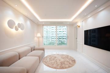화이트의 화려함을 보여주는 공간, 26평 아파트인테리어  26평,20평대아파트인테리어,아파트인테리어,아파트리모델링,서대문구,북가좌동