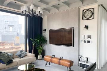 웨인스 코팅을 이용한 모던하고 럭셔리한 느낌의 100평 주택 인테리어 100평,100평대주택인테리어,주택인테리어,인천,청라
