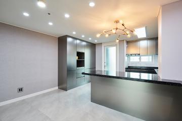 자꾸만 눈이 가는 공간의 포인트, 66평 아파트 인테리어 66평,60평대아파트인테리어,아파트인테리어,용인,기흥,용인인테리어