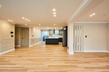 현대적인 세련된 컨셉의 뉴클래식 스타일, 47평 아파트 인테리어 40평대아파트,47평아파트,서초구,방배동