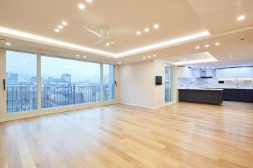 눈이 부시게 밝고 럭셔리한, 60평 아파트 인테리어 60평대아파트,60평아파트,서초구,방배동