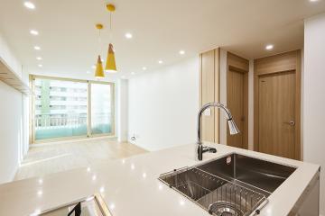 우드와 크림의 조화가 이뤄진 내추럴 컨셉, 22평 아파트 인테리어 22평,22평아파트인테리어,20평대아파트인테리어,노원구,중계동