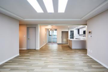 내츄럴한 우드 감성의 편안함, 42평 아파트 인테리어