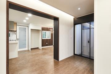 심플하지만 가볍지 않은 공간, 35평 주택 인테리어
