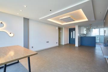 다양한 컬러로 매력적인 공간을 연출한 30평 아파트 인테리어 30평아파트,30평대아파트,부천시,범박동