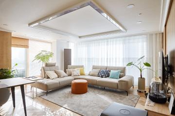 여유로운 일상을 선물하는 편안하고 내츄럴한 38평 아파트 인테리어 38평아파트,30평대아파트,서초구,서초동