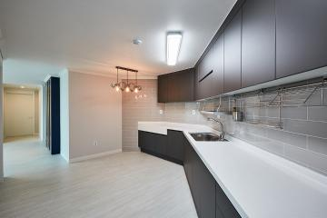 화이트&그레이 모노톤의 매력적인 조합, 31평 아파트 인테리어 31평아파트,30평대아파트,수원시,망포동
