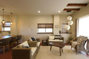 제주 감성을 그대로 담아낸 내추럴 공간, 60평 주택 인테리어