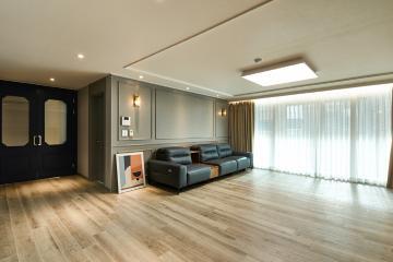 완벽한 컬러 매칭과 공간 스타일링까지 완벽한 공간, 45평 아파트 인테리어 45평,40평대아파트,아파트인테리어,강남,논현동
