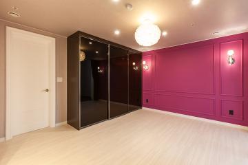 핫핑크 컬러의 포인트로 완성시킨 48평 아파트 인테리어 48평,40평대아파트인테리어,아파트인테리어,남양주,금곡리