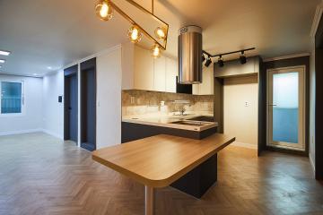매력적인 모던 스타일의 두 공간, 60평 주택 인테리어 60평주택,60평대주택,강서구,화곡동