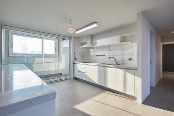 세련된 화이트 모던 스타일의 매력, 33평 아파트 인테리어 화이트모던,30평대아파트,33평아파트,강동구,천호동